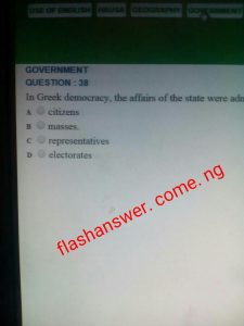 Jamb 2021/2020 cbt answers, jamb 2021 cbt answer
