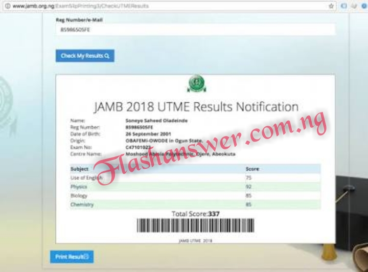2021/2022 JAMB UTME CBT Mathematics Questions and Answers Expo