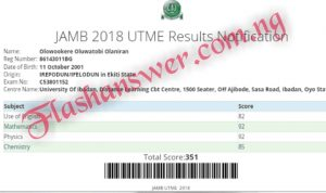 2021/2022 JAMB CBT ANSWERS | 2021/2022 JAMB CBT ANSWER